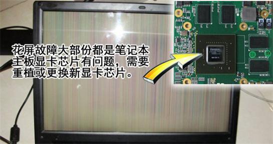 圖形卡導致花屏故障排除并修復圖形卡與主板_計算機硬件和網絡_IT /計算機_數據不兼容